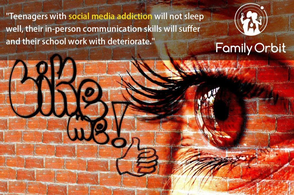 social media addiction in teens